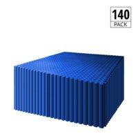 DURASTUD Garage Floor Tiles PVC 50cm (Blue)
